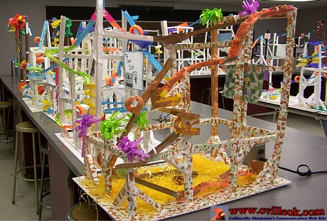Marble Roller Coasters Made Of Paper April 24 2014