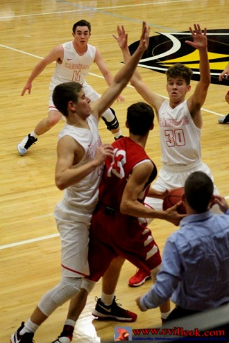 CHS Basketball -vs- Grove -- December 6, 2016 -- Collinsville, OK -- www.cvilleok.com